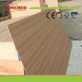Tarjeta laminada chapa natural del roble rojo del grado del AAA/de la teca/de la cereza/de la ceniza (MDF/Plywood)