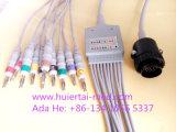 Kanz DIN3.0/Banana4.0 10 EKG/ECGケーブル