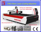 Нержавеющая сталь вырезывания машины лазера волокна CNC, слабая сталь,