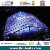 5000人の贅沢なイベントのための明確な上が付いている大きい玄関ひさしのテント