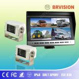 10 Rearview Systeem van de Vrachtwagen van de duim met de Camera van de Input van 2 CH