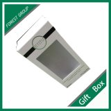 Fabrik Custom White Gift Box mit PVC Window