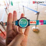 環境のNfc 125kHz RFID Wristband/UHF RFID WristbandかSilicone RFID Wristband