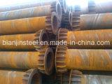 Tubulação de aço soldada espiral do uso da construção