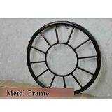 Marco de la nueva del estilo del reloj antiguo del metal redondo reloj de pared decorativo