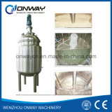 Pl Stainless Steel Jacket Emulsification Mixing Tank Oil Blending Machine