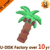 Movimentação do flash do USB da árvore do PVC 2D/3D (YT-6669L)