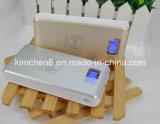 Carregador externo do USB da bateria do banco portátil novo da potência 12000mAh para o iPhone Samsung