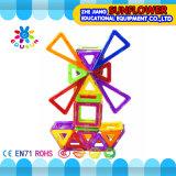 Kind-Plastiktischplattenspielzeug-magnetische Bausteine