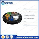 Câble optique uni-mode extérieur Fabricante de fibre de 6 faisceaux de vente chaude