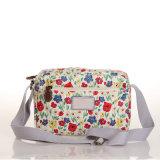 (99032-5) Sacs à main imperméables à l'eau floraux de sac d'épaule de toile de Frensh