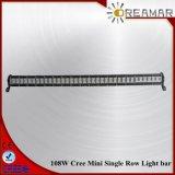 37inch 108W CREE einzelne helle Minibar der Reihen-LED für nicht für den Straßenverkehr 4X4