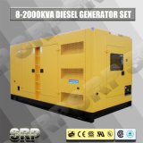 генератор 1250kVA 50Hz звукоизоляционный тепловозный приведенный в действие Perkins (SDG1250PS)