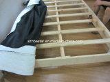 가정 가구 경제적인 법정 침대 안은 나무로 되는 바디와 금속 다리로 온다