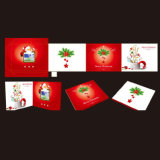 Cartolina d'auguri musicale programmabile di natale 2015