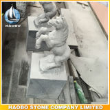 Mano Carved Stone Horse Sculpture con Base