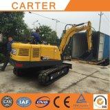 Heiße Erdverlagerung der Verkaufs-CT45-8b (4.5t)--Löffelbagger-Gleisketten-Miniexkavator