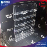 Vente en gros 6 Tiers Clear Wall Magnetic Acrylic Nail Polish Display