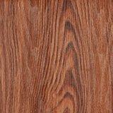 Film/clinquant en stratifié de décoration de PVC des graines en bois pour les meubles/porte