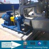 트레일러에 의하여 거치되는 디젤 엔진 탈수 펌프