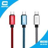 Красивейший кабель данным по USB Micro с Pet+Nylon заплел