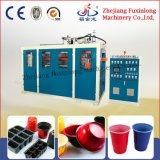 Utensilios plásticos disponibles automáticos que hacen la máquina