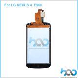 Мобильный телефон разделяет экран касания LCD для LG Nexus4 E960