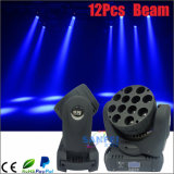 Faisceau principal mobile de LED 12PCS*10W 4in1