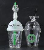 De Rokende Toebehoren van het Glas van het Booreiland van de Kop van Starbuck Voor de Rokende Afneembare Pijp van het Glas