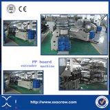 Hoja de PP / Tablero Extrusora Macking Machine