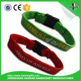 Изготовленный на заказ причудливый празднество и популярным сплетенные полиэфиром Wristbands