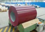 Tôle d'acier galvanisée à chaud enduite d'une première couche de peinture de matériau de construction de structure métallique PPGI