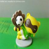 Figura animal plástica Figurine de Hotsale do caráter do PVC