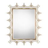 De licht Antieke Gouden Ijzer Frame Spiegel van de Muur voor de Decoratie van het Huis