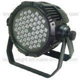 屋外の防水DMX RGBW LEDの同価64軽い54X3w IP66