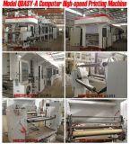 Máquina de papel Qfj-a el rajar y el rebobinar