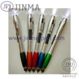 La penna Jm-M034 di promozione LED con un tocco dello stilo