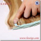 毛の拡張バージンの人間の毛髪のRemyのブラジルの毛