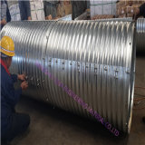 Principale 10 in Cina Galvanized Sheet Corrugated Pipe Culvert