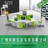 Sitio de trabajo moderno de la oficina del estilo del escritorio del vector del hardware