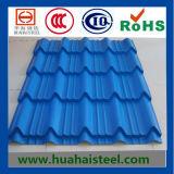 Lamiera di acciaio ondulata del tetto (galvanizzata/ha ricoperto)