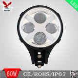 オフロード手段のための60Wクリー族LED 「X」作業ライト