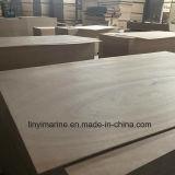 cara de 12m m BB/CC Okoume y madera contrachapada posterior para los muebles