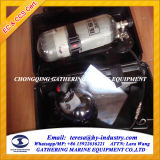conjunto del aparato respiratorio de la lucha contra el fuego del respirador 5L/6L