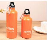 Botella de agua de aluminio del deporte