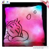 Oreiller lumineux coloré de prise du grand dessin animé LED