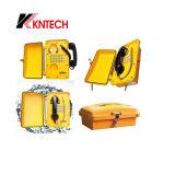 Kntech 빌딩 Sos 아날로그 전화 Knsp-01는 전화 방수 전화를 비바람에 견디게 한다