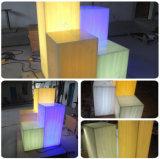 Surface solide transparente acrylique en pierre artificielle matérielle de décoration