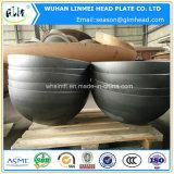中国製管のエンドキャップの皿に盛られたヘッド