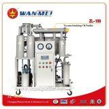 Épurateur de pétrole en une seule étape de transformateur de vide de Chaud-Vente (ZL-100)